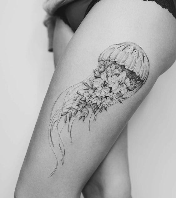 Tatuajes de Medusas: 50 Ideas y sus Significados (+Leyenda) 30
