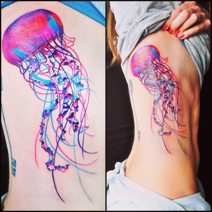 Tatuajes de Medusas: 50 Ideas y sus Significados (+Leyenda) 19