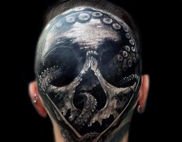 96 Ideas para Tatuajes de Pulpos (Kraken) con Significados 68