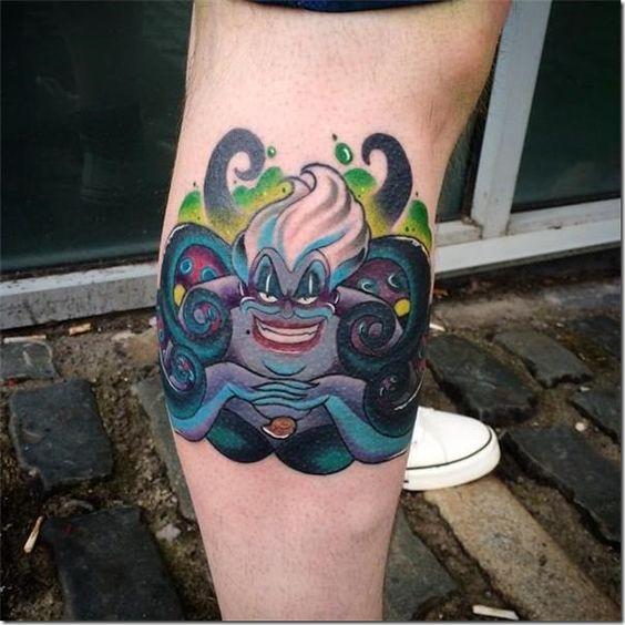 96 Ideas para Tatuajes de Pulpos (Kraken) con Significados 50