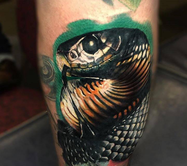 101 Ideas de Tatuajes de Serpientes y sus Significados 64