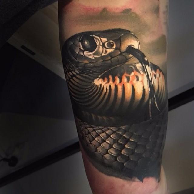 101 Ideas de Tatuajes de Serpientes y sus Significados 67
