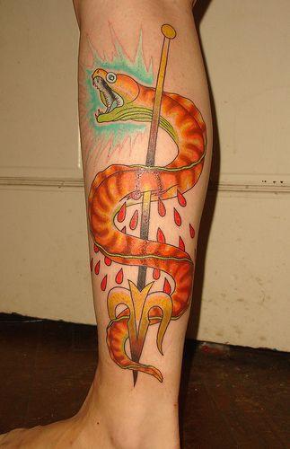 101 Ideas de Tatuajes de Serpientes y sus Significados 31