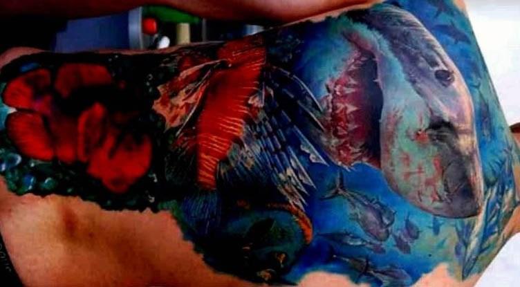 82 Mejores Tatuajes de Tiburones con Significados 50