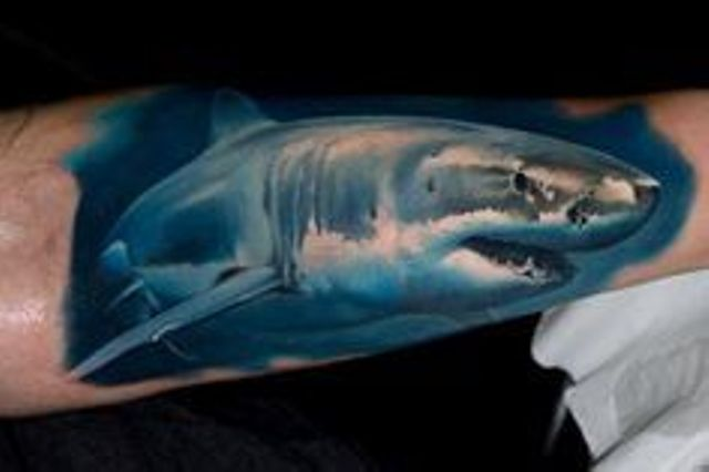 82 Mejores Tatuajes de Tiburones con Significados 36