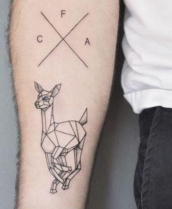 72 Ideas para Tatuajes de Venados (Con Significados) 25