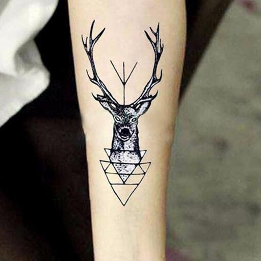 72 Ideas para Tatuajes de Venados (Con Significados) 45