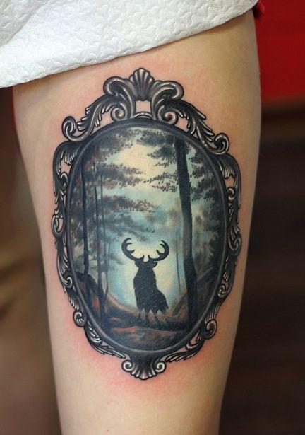 72 Ideas para Tatuajes de Venados (Con Significados) 15