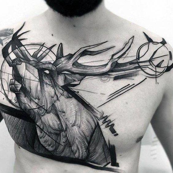 72 Ideas para Tatuajes de Venados (Con Significados) 16