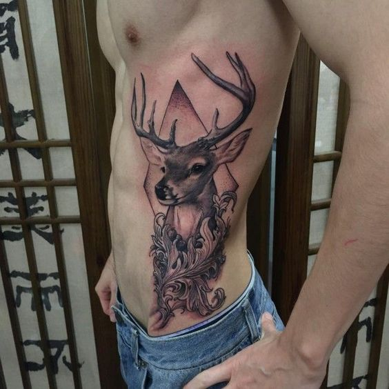 72 Ideas para Tatuajes de Venados (Con Significados) 18