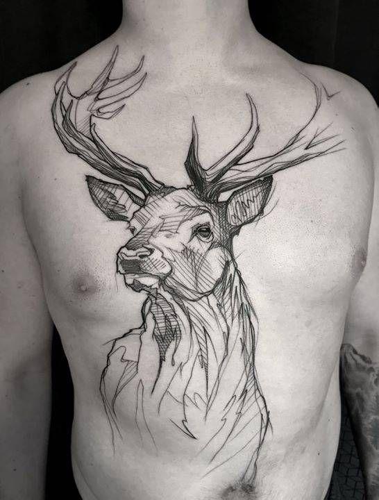 72 Ideas para Tatuajes de Venados (Con Significados) 22