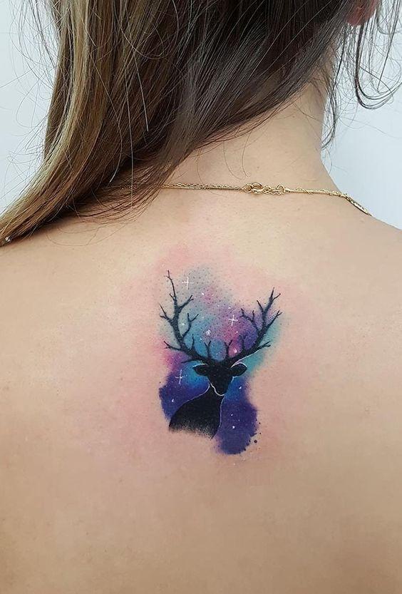 72 Ideas para Tatuajes de Venados (Con Significados) 50