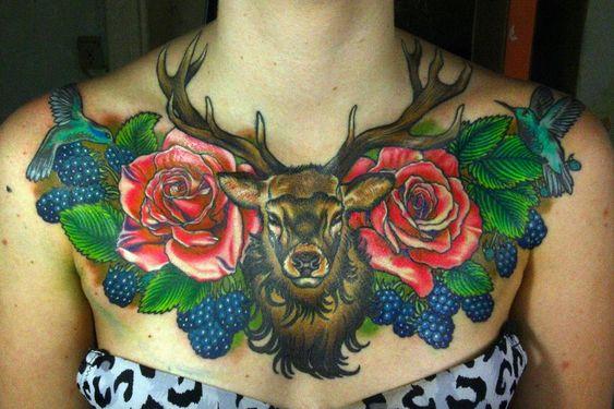 72 Ideas para Tatuajes de Venados (Con Significados) 37