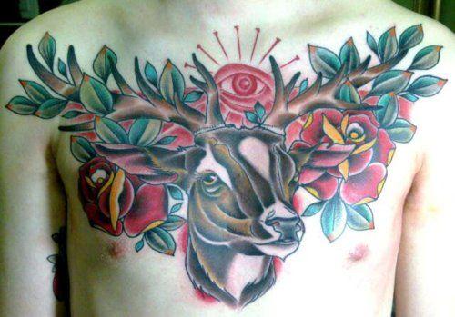 72 Ideas para Tatuajes de Venados (Con Significados) 41