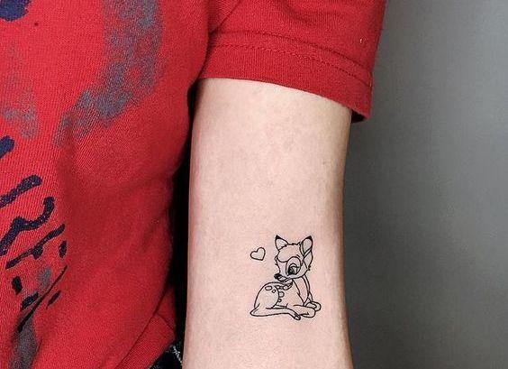72 Ideas para Tatuajes de Venados (Con Significados) 56