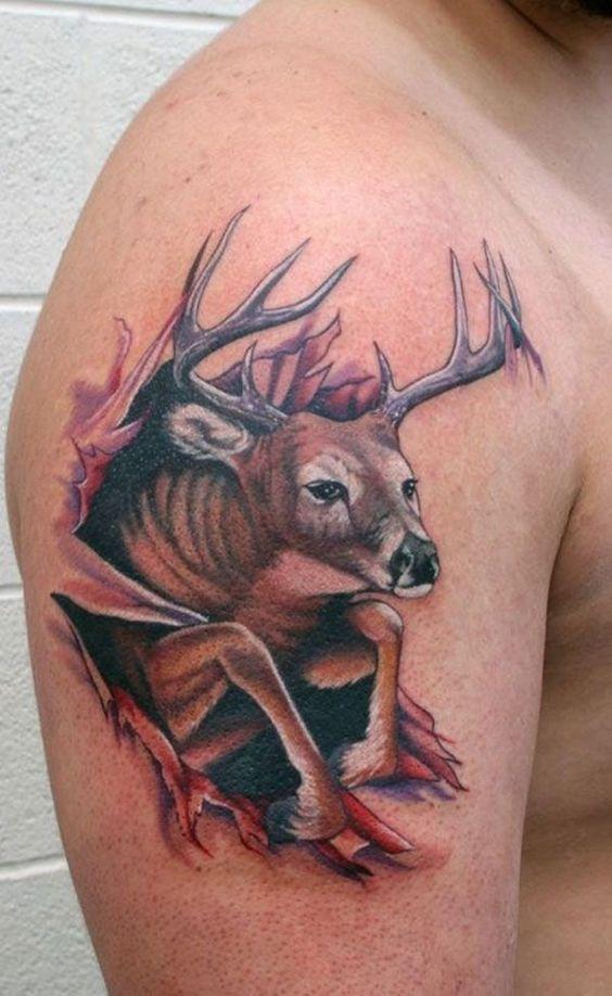 72 Ideas para Tatuajes de Venados (Con Significados) 32