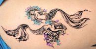 58 Ideas para Tatuajes de Sirenas (Significados) 12