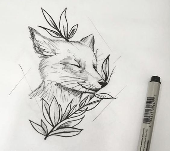 51 Tatuajes de zorros y sus significados 16