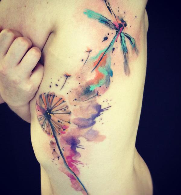 68 Tatuajes de Libélulas con sus Significados 56