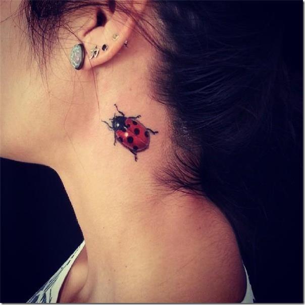 50 Especiales Tatuajes de Insectos y sus significados 26