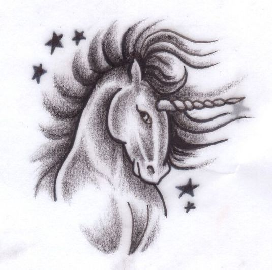 62 Ideas para Tatuajes de Unicornios (+Significados) 63