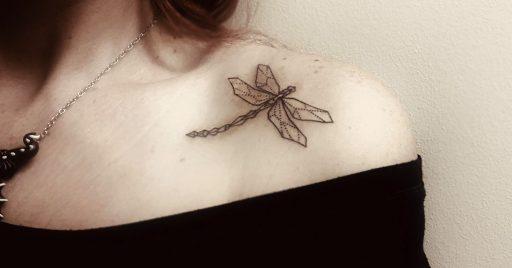 68 Tatuajes de Libélulas con sus Significados 1