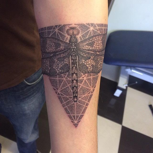 68 Tatuajes de Libélulas con sus Significados 4