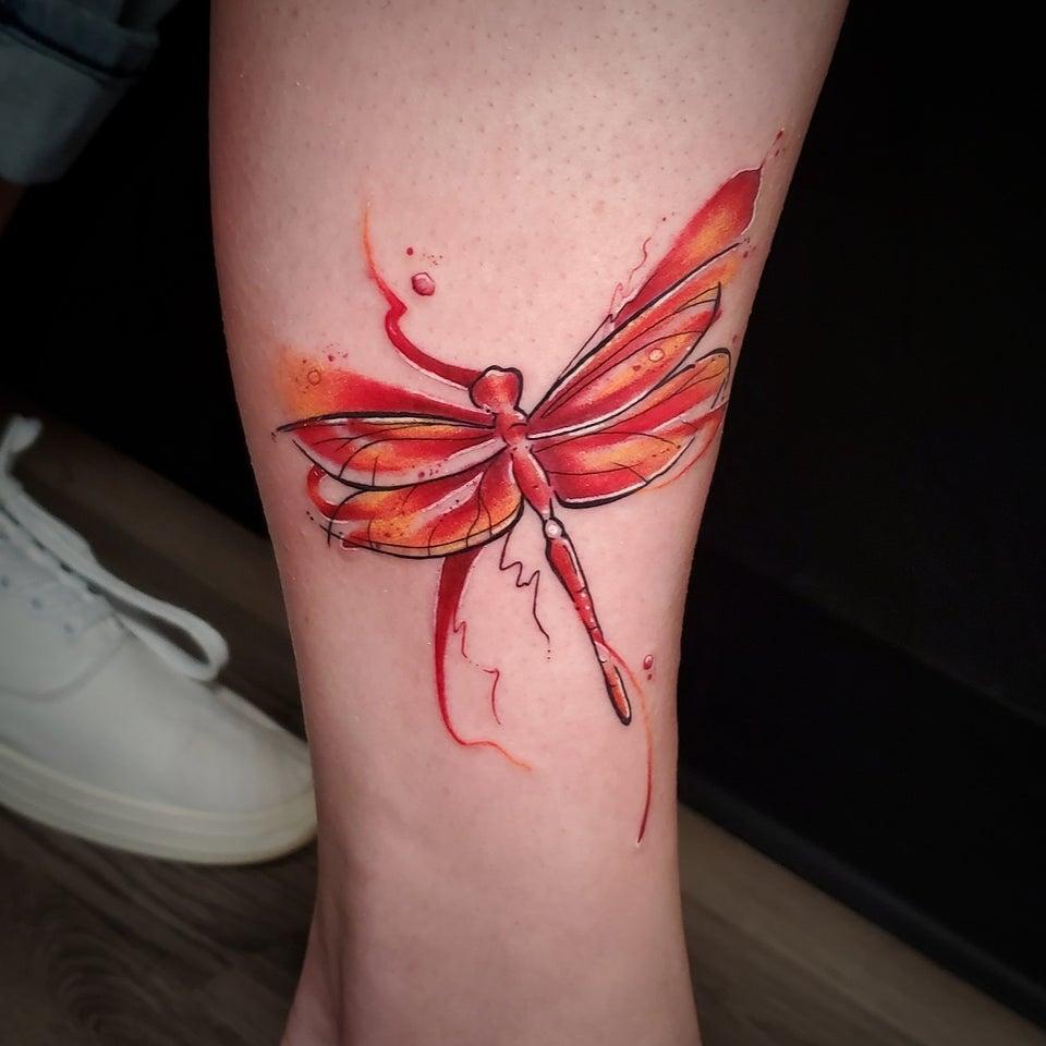 68 Tatuajes de Libélulas con sus Significados 5