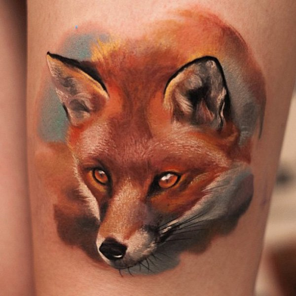 51 Tatuajes de zorros y sus significados 19