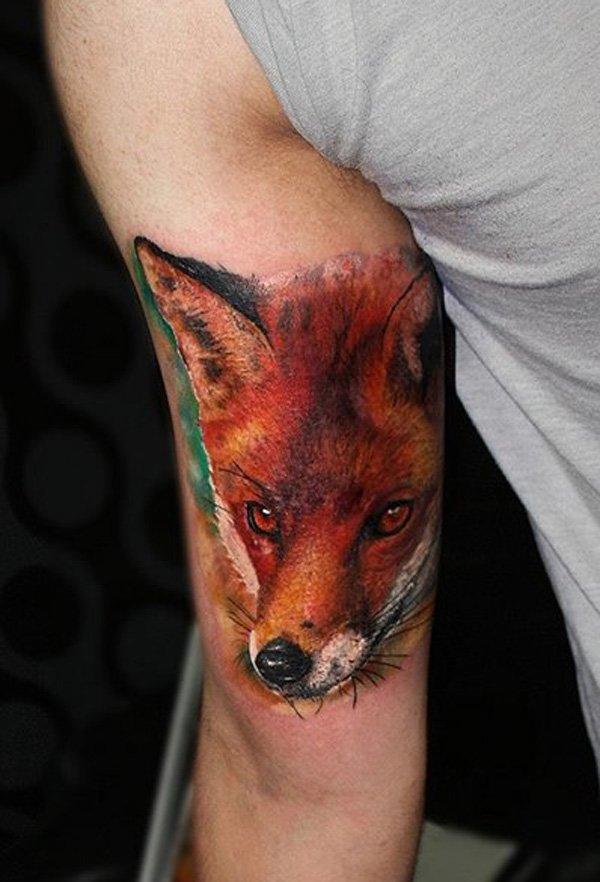 51 Tatuajes de zorros y sus significados 21