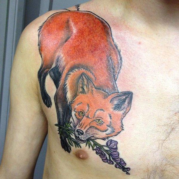 51 Tatuajes de zorros y sus significados 22