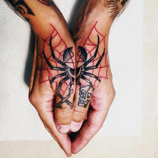 60 Tatuajes de Arañas con significados 15