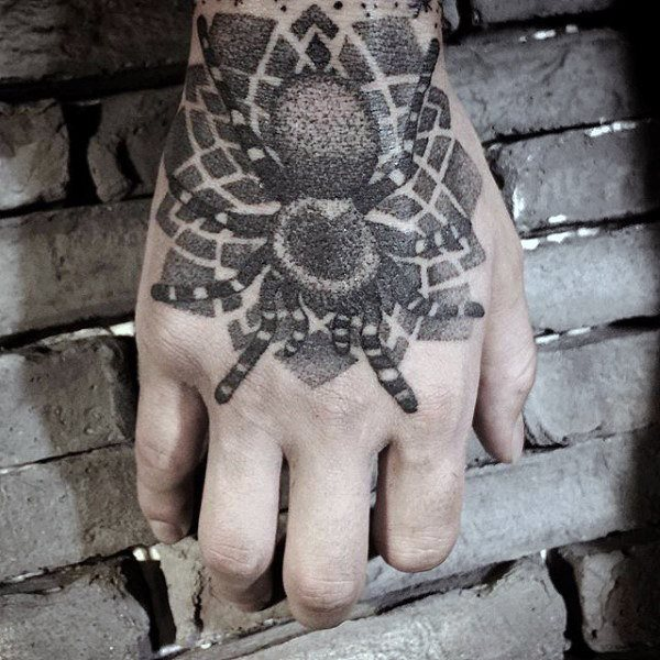 60 Tatuajes de Arañas con significados 16