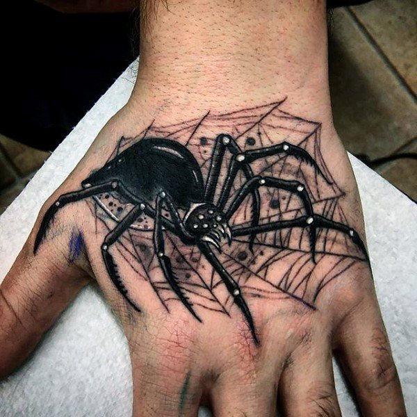 60 Tatuajes de Arañas con significados 17