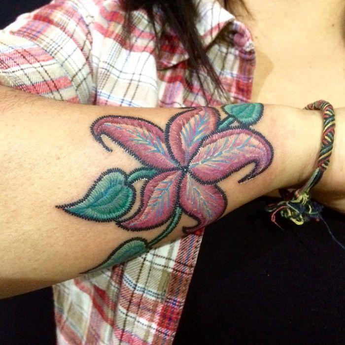 Tatuajes Bordados: La nueva Moda y sus estilos (Mexicano) 14