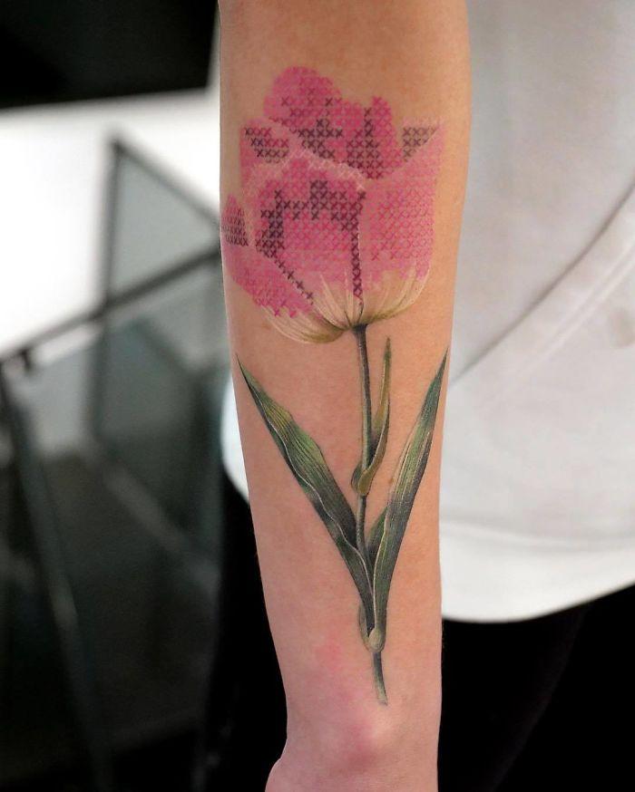 Tatuajes Bordados: La nueva Moda y sus estilos (Mexicano) 17