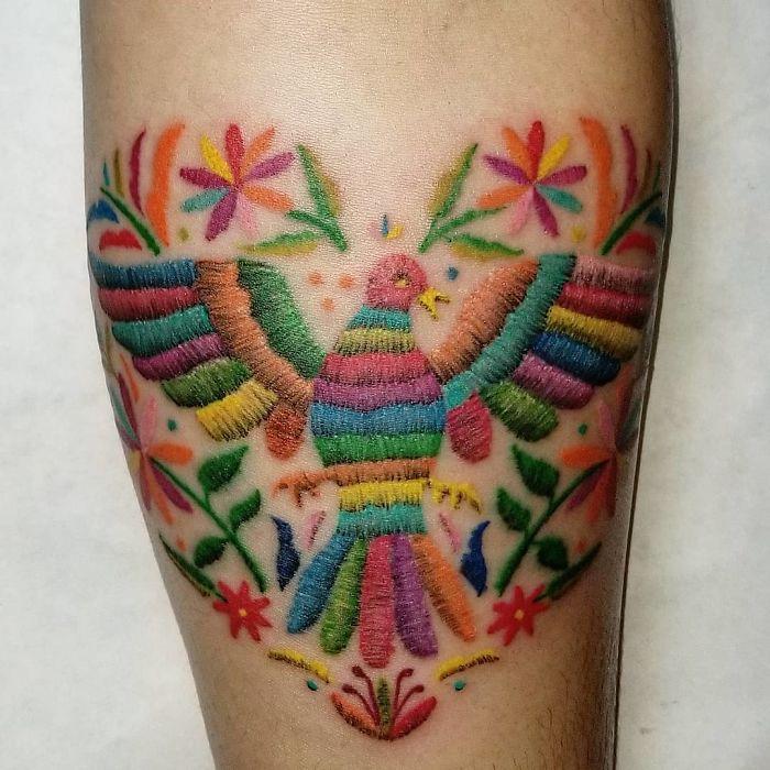 Tatuajes Bordados: La nueva Moda y sus estilos (Mexicano) 6