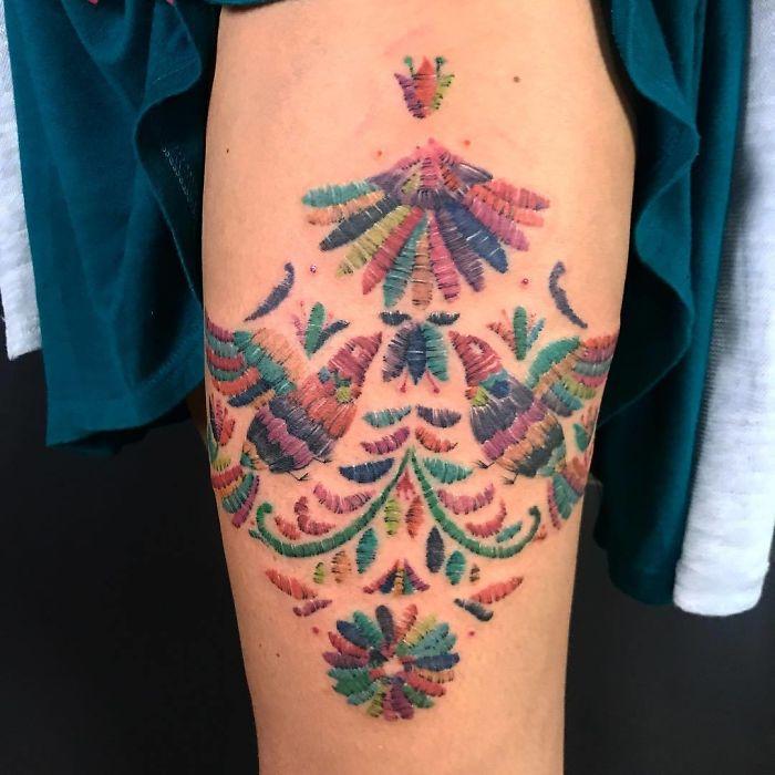 Tatuajes Bordados: La nueva Moda y sus estilos (Mexicano) 8
