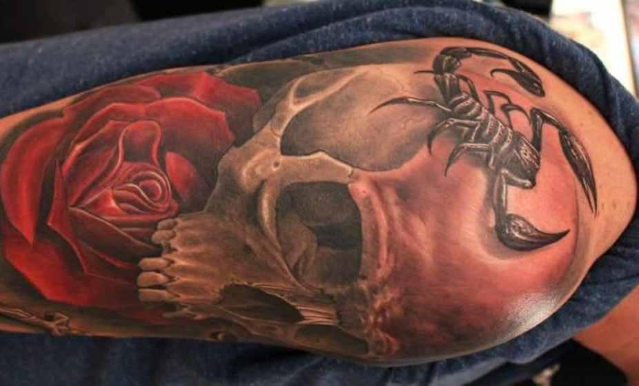 79 Ideas para Tatuajes de Escorpiones (+Significados) 4