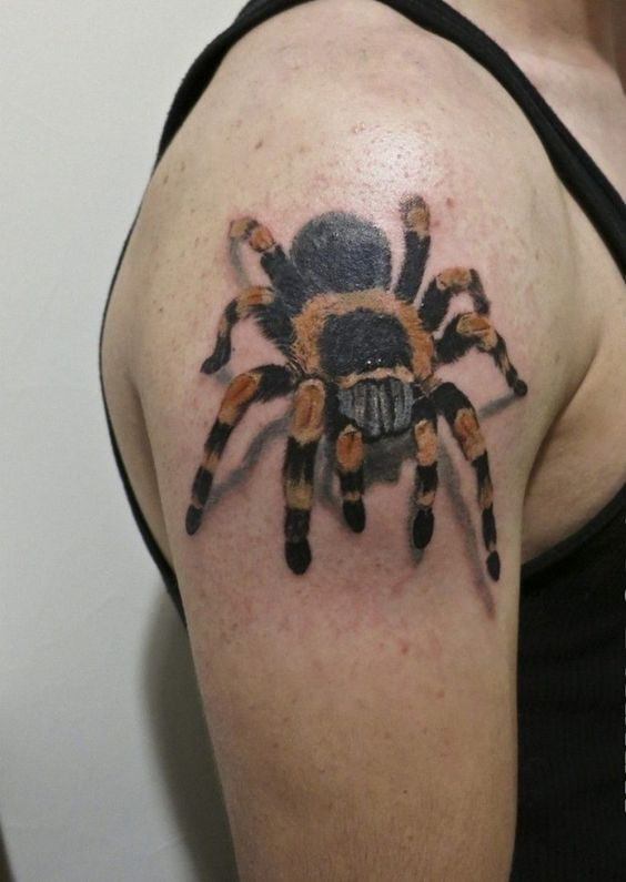 60 Tatuajes de Arañas con significados 2