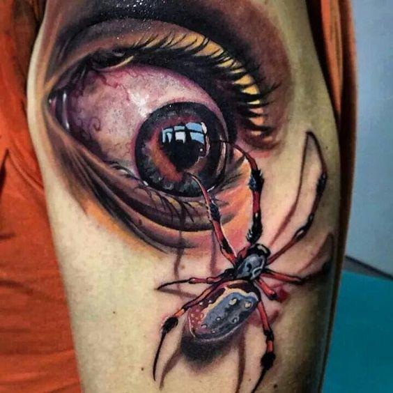60 Tatuajes de Arañas con significados 5