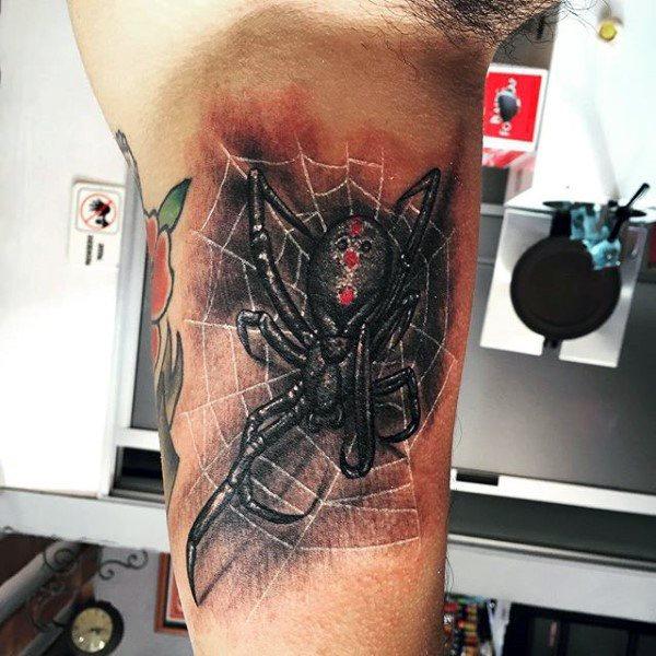 60 Tatuajes de Arañas con significados 6