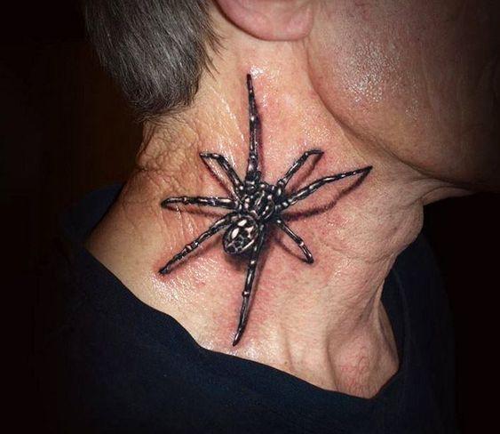 60 Tatuajes de Arañas con significados 7
