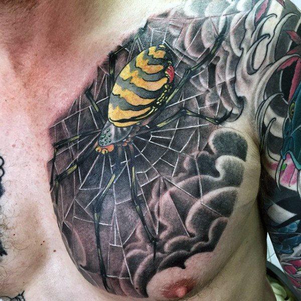 60 Tatuajes de Arañas con significados 8