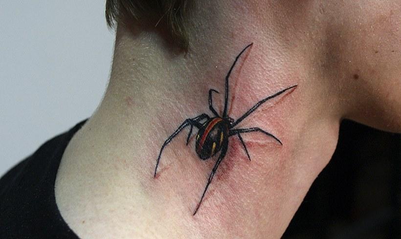 60 Tatuajes de Arañas con significados 49