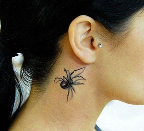 60 Tatuajes de Arañas con significados 11