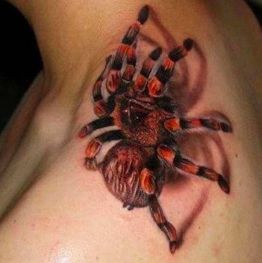 60 Tatuajes de Arañas con significados 12