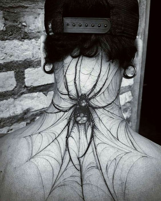 60 Tatuajes de Arañas con significados 14