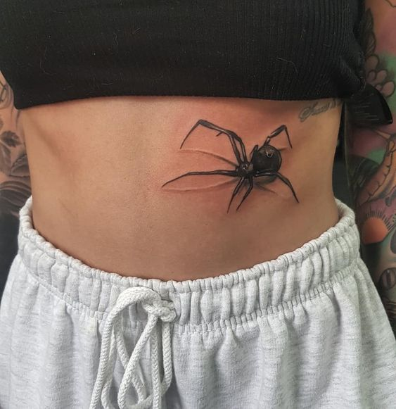 60 Tatuajes de Arañas con significados 29
