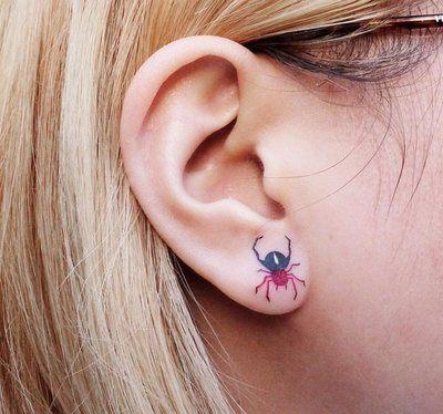 60 Tatuajes de Arañas con significados 31